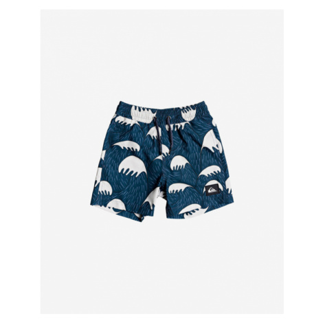 "Quiksilver Jaws 12"" Kids Swimsuit Blue"