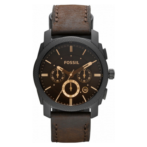 Mens Fossil Machine Chronograph Watch FS4656