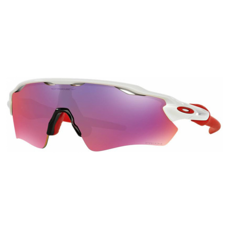 Oakley Man OO9208 Radar® EV Path® - Frame color: White, Lens color: Red, Size 01-38/128