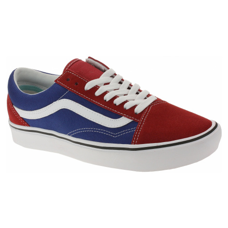 shoes Vans ComfyCush Old Skool - Two Tone/Chilli Pepper/True Blue