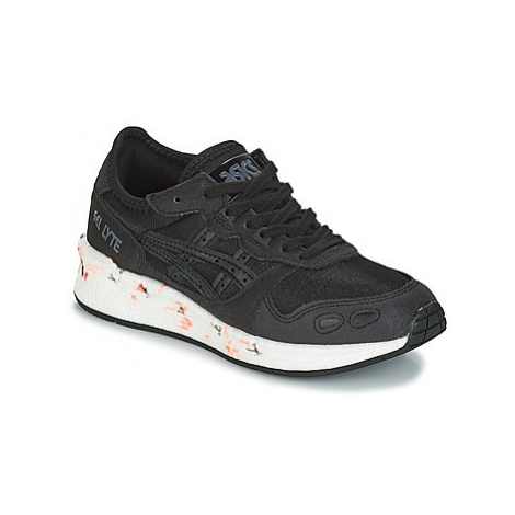 Asics HYPER GEL-LYTE GS girls's Children's Shoes (Trainers) in Black