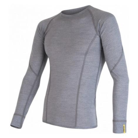 Sensor MERINO ACTIVE grey - Men's functional T-shirt