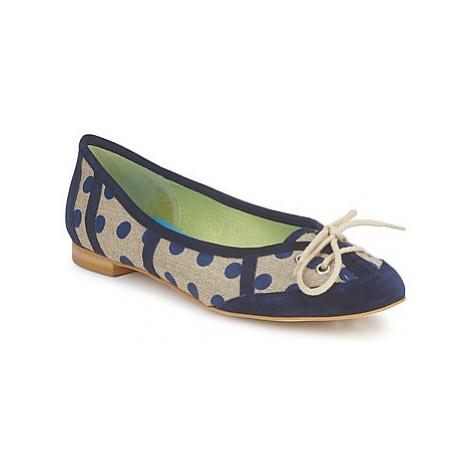 Stephane Gontard KASTOR women's Shoes (Pumps / Ballerinas) in Blue Stéphane Gontard