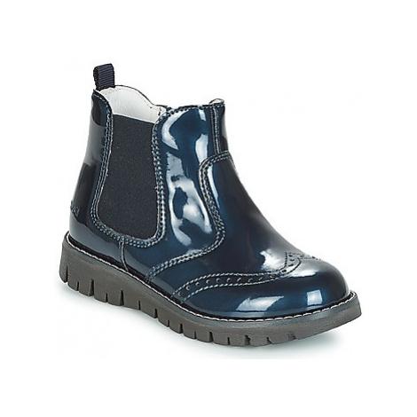 Primigi CROSSY girls's Children's Mid Boots in Blue