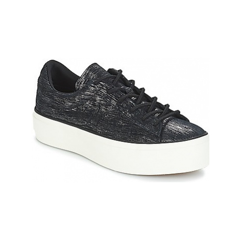 Converse ONE STAR PLATFORM OX women's Shoes (Trainers) in Black