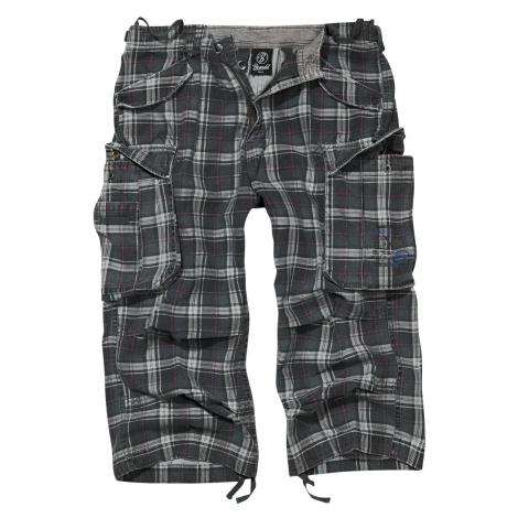 Brandit Industry Vintage 3/4 Shorts dark grey