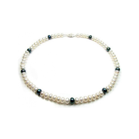 Blue Pearls BPS 0201 Y women's Necklace in Multicolour