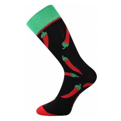 socks Lonka Woodoo - Mix I/Chilli