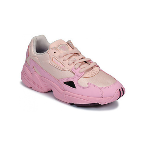 Adidas FALCON W women's Shoes (Trainers) in Pink