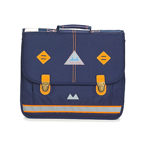 Poids Plume VISIBILITY CARTABLE 41 CM boys's Briefcase in Blue