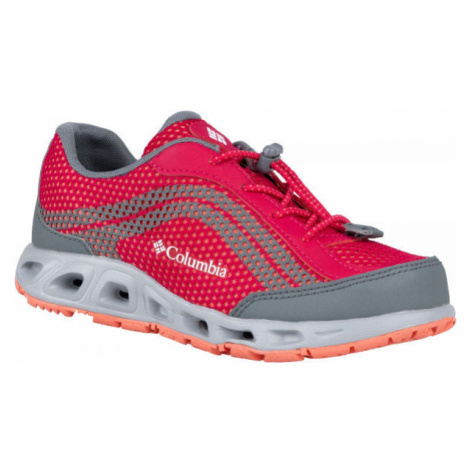 Columbia YOUTH DRAINMAKER IV red - Children's outdoor shoes