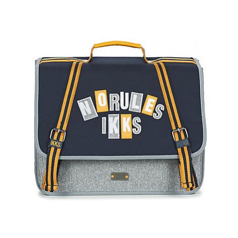 Ikks IKKS KINGS CARTABLE 38 CM boys's Briefcase in Blue