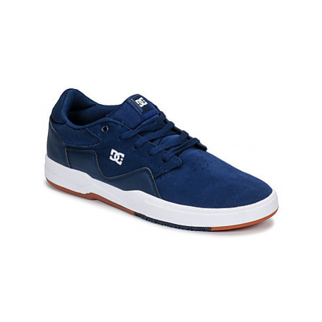 DC Shoes BARKSDALE M SHOE NVW men's Skate Shoes (Trainers) in Blue