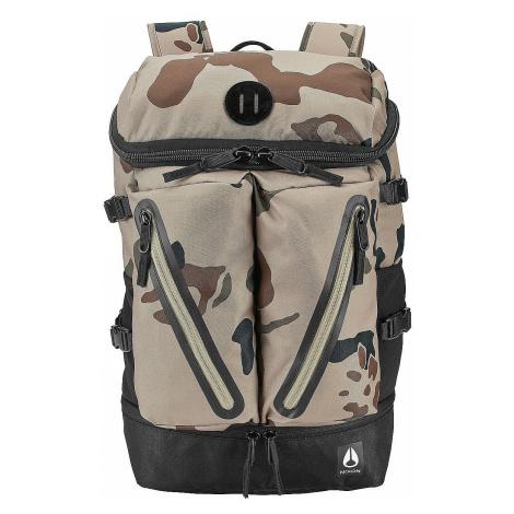 backpack Nixon Scripps II - Khaki Camo - men´s