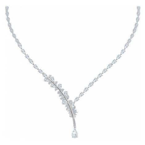 Swarovski Nice White Crystal Y Necklace