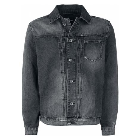 Forplay - Washed Denim Jacket - Jeans jacket - grey