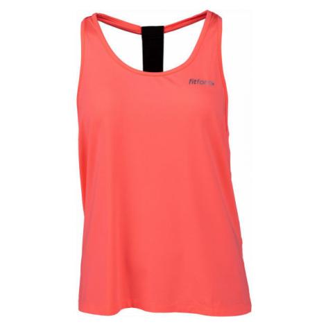 Fitforce KAPALI orange - Women's fitness top
