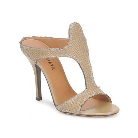 Premiata 2821 LUCE women's Mules / Casual Shoes in Beige