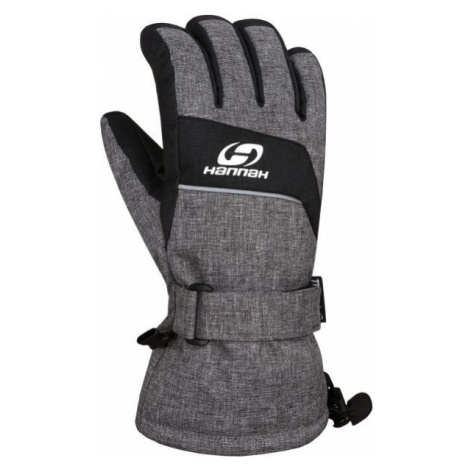 Hannah RAFFY grey - Men's ski gloves