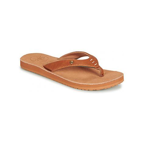 Cool shoe COASTAL women's Flip flops / Sandals (Shoes) in Brown