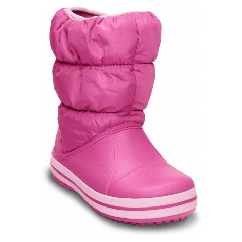 shoes Crocs Winter Puff Boot - Candy Pink