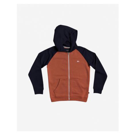 Quiksilver Easy Day Kids Sweatshirt Black Orange