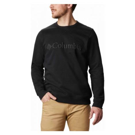 Columbia M LOGO FLEECE CREW black - Men's sweatshirt