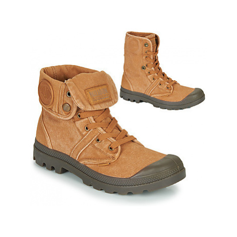 Palladium PALLABROUSE BAGGY men's Mid Boots in Brown