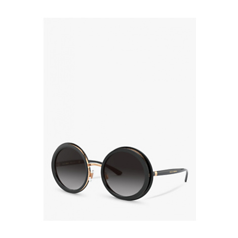 Dolce & Gabbana DG6127 Women's Round Sunglasses
