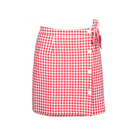 Betty London KRAKAV women's Skirt in Red