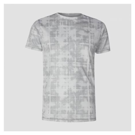 MP Men's Training Grid T-Shirt - White Myprotein