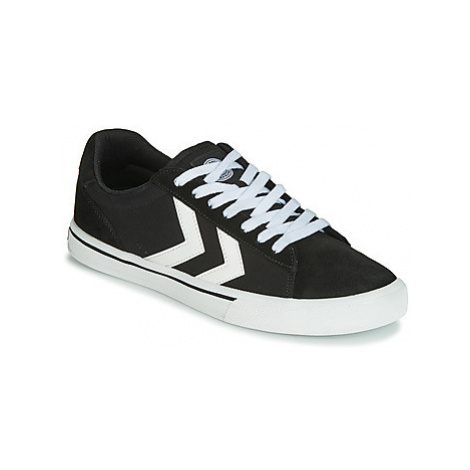 Hummel NILE CANVAS LOW women's Shoes (Trainers) in Black