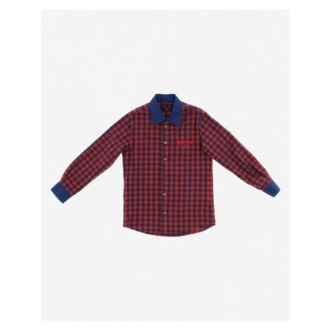 John Richmond Kids Shirt Blue Red