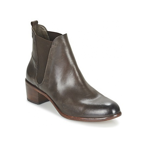 Hudson COMPUND CALF women's Low Ankle Boots in Brown Hudson London