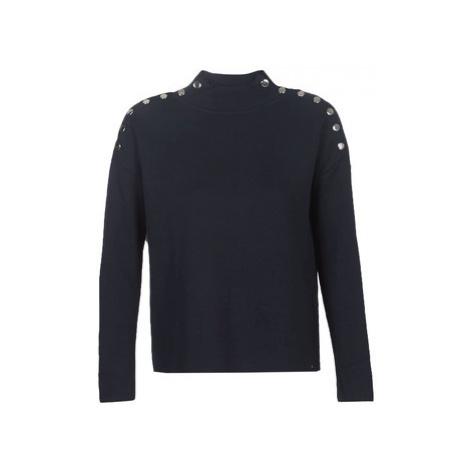 Morgan MFAFA women's Sweater in Blue