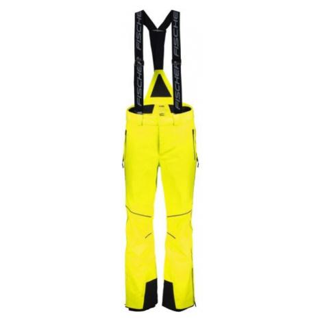 Fischer HANS KNAUSS M PANTS yellow - Men's ski pants