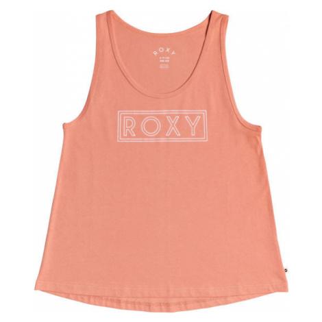 Roxy CLOSING PARTY WORD orange - Women's tank top