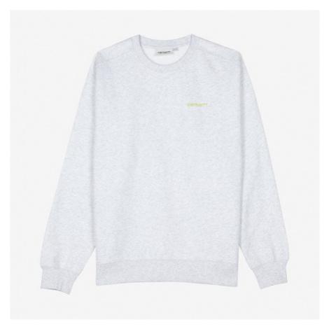 Carhartt w Script Embroidery Sweatshirt Carhartt WIP