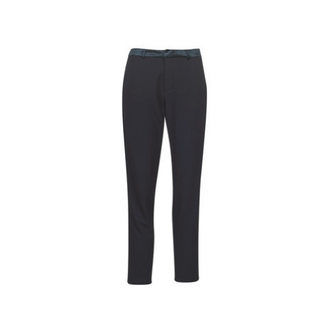 Maison Scotch TAILORED SWEAT JOGGER WITH VELVET WAISTBAND women's Trousers in Black Scotch & Soda