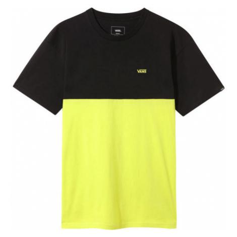Vans MN COLORBLOCK TEE yellow - Men's T-shirt
