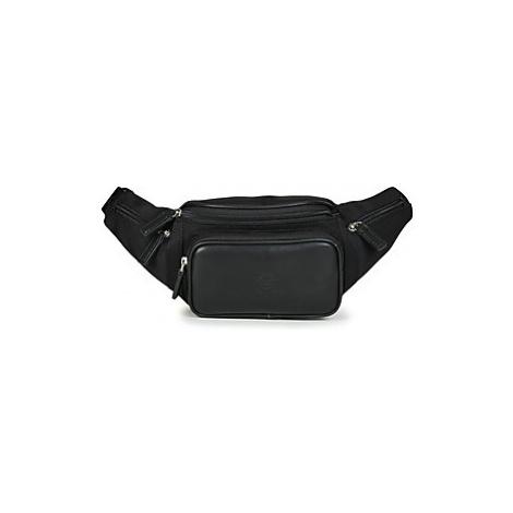 Black men's bum bags
