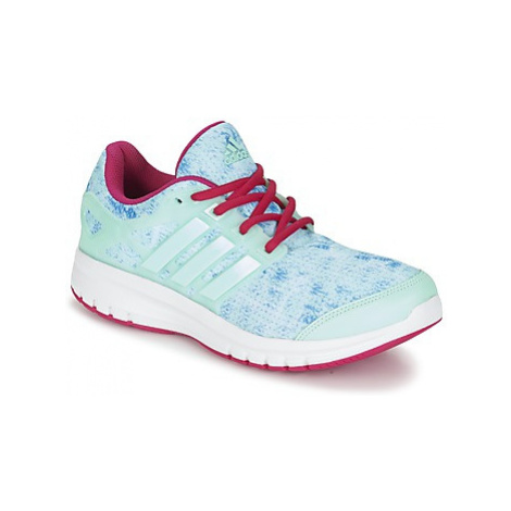 Adidas ENERGY CLOUD K girls's Children's Shoes (Trainers) in Green