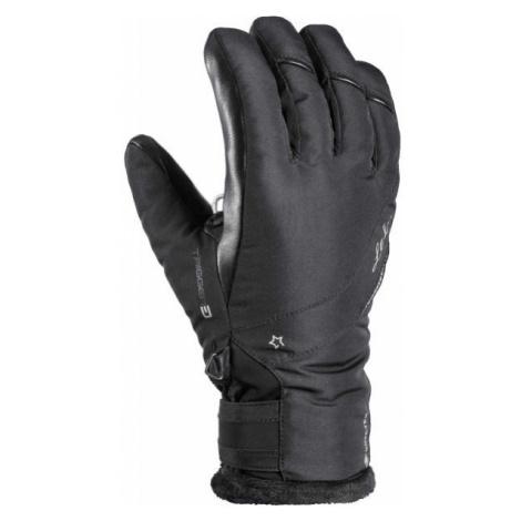 Leki SNOWBIRD 3D GTX W black - Women's downhill ski gloves