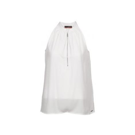 La City DEB2D4A women's Vest top in White