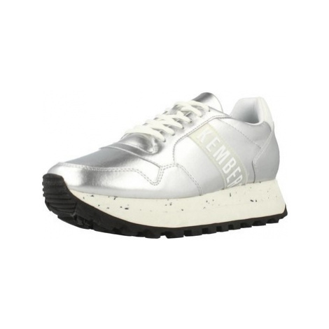 Bikkembergs BKW102108 women's Shoes (Trainers) in Silver