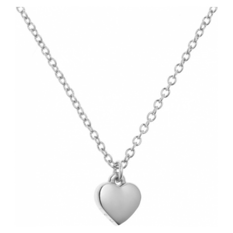 Ladies Ted Baker PVD Silver Plated Hara Tiny Heart Pendant Necklace