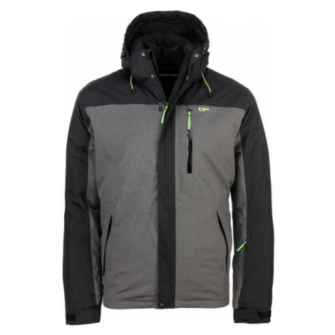 ALPINE PRO NELIM grey - Men's ski jacket