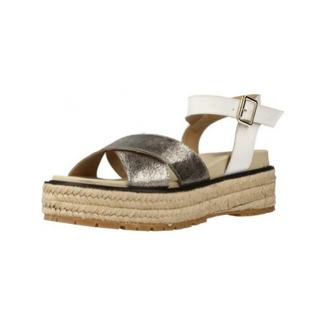 Lumberjack ANITA women's Espadrilles / Casual Shoes in Silver