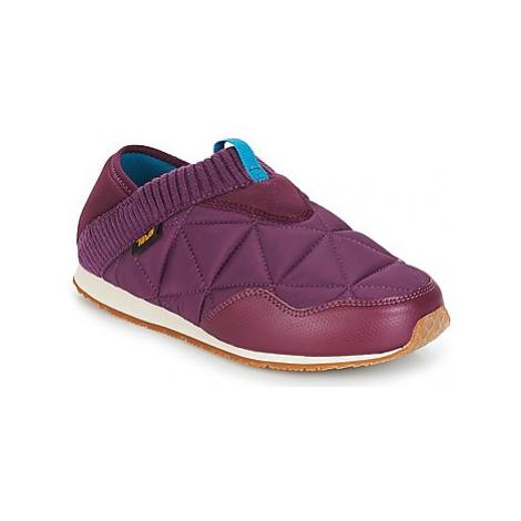 Teva EMBER MOC women's Slippers in Purple