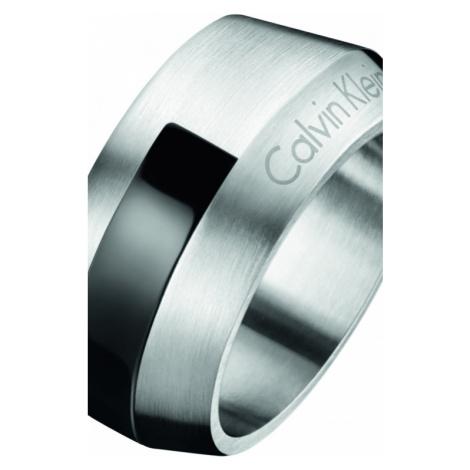 Mens Calvin Klein Stainless Steel Size R/S Bump Ring KJ4MBR210109